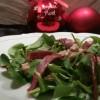salade minceur Perigord foie gras et magret de canard fume