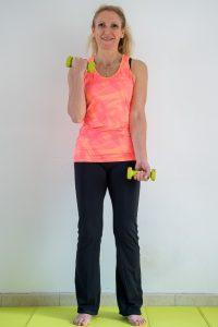 Biceps alterné / Affiner les bras