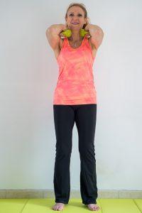 Biceps curl coudes montés/ affiner les bras