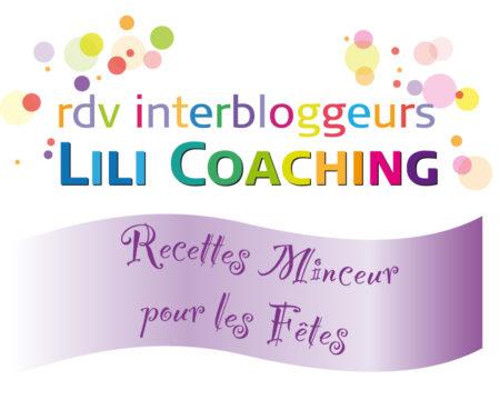 recettes minceur fetes Lili coaching
